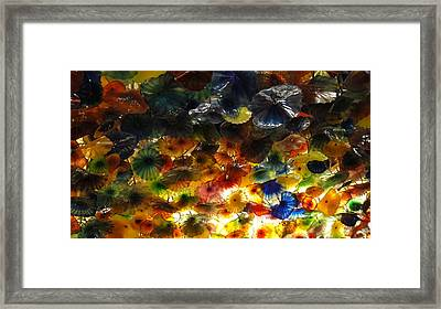 Abstract Color Framed Print by Michael Davis
