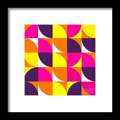 Tile Floor Framed Prints