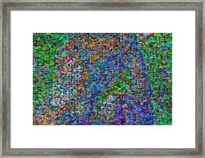 Abstract Colorfull  Art Framed Print
