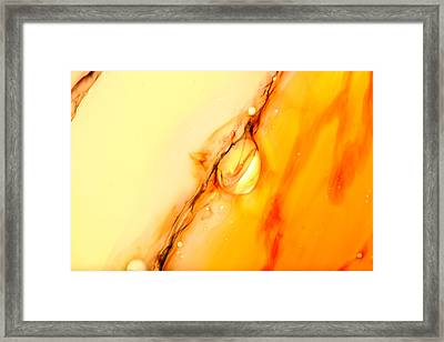 Abstract Colors. Framed Print