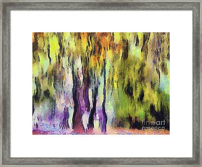 Abstract Colors Framed Print by Odon Czintos