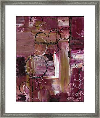 Abstract Connection One Framed Print