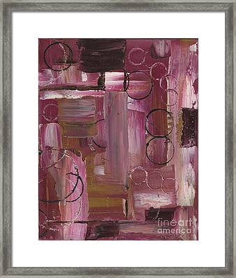 Abstract Connection Three Framed Print