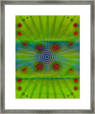 Abstract Creation Series 1 Framed Print by Teri Schuster