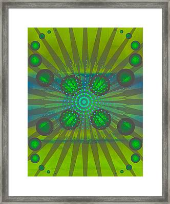 Abstract Creation Series 3 Framed Print by Teri Schuster