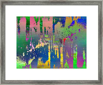 Abstract Cubed 111 Framed Print