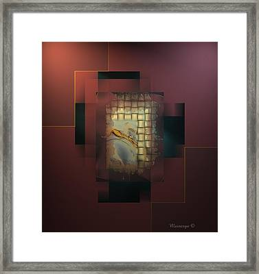 Abstract Decadent Framed Print