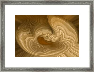 Framed Print featuring the photograph Abstract Design by Charles Beeler