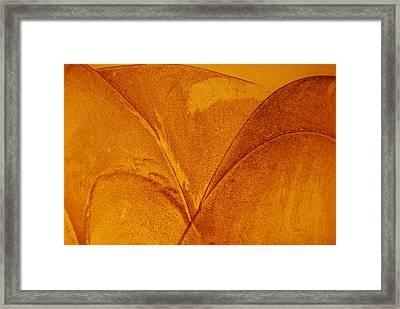 Abstract Design Framed Print