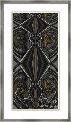 Abstract Door  Ad000001 Framed Print by Pemaro