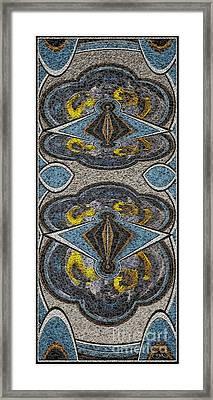 Abstract Door  Adoor000001 Framed Print by Pemaro