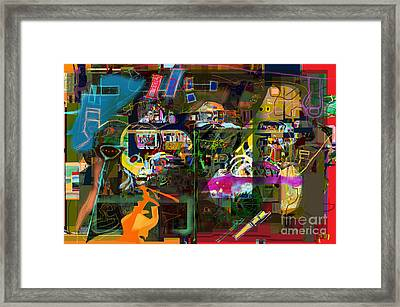 Tefilla Without Cavona 7b M Framed Print