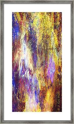 Abstract E - From Series 1 Framed Print by J Larry Walker
