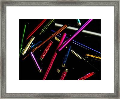 Abstract Elements Framed Print