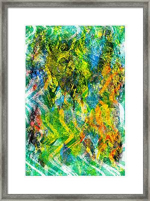Abstract - Emotion - Admiration Framed Print by Barbara Griffin