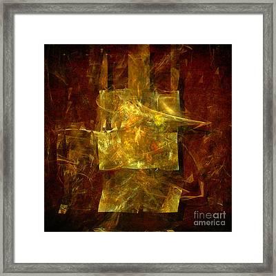 Abstract Energy Framed Print