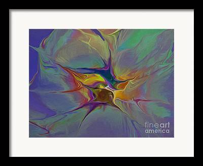 Generative Abstract Mixed Media Framed Prints