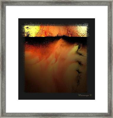 Abstract-f-r-b Framed Print