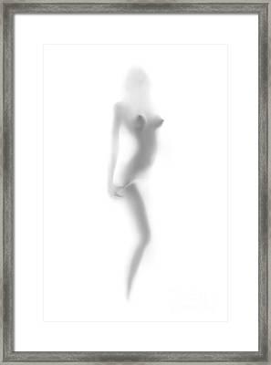Abstract Female Strip Tease Framed Print by Aleksey Tugolukov