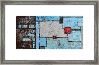 Abstract - Finding My Way Framed Print by Patricia Awapara