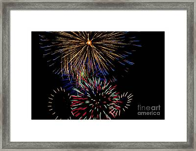 Abstract Firwoprks Framed Print by Robert Bales
