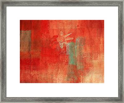 Abstract Floral - 50t12a Framed Print