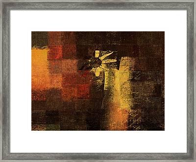 Abstract Floral - A8v46bt2a Framed Print