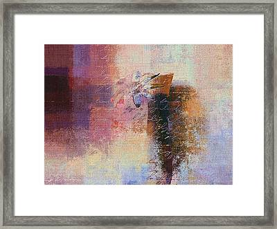 Abstract Floral - Xs01bt2 Framed Print