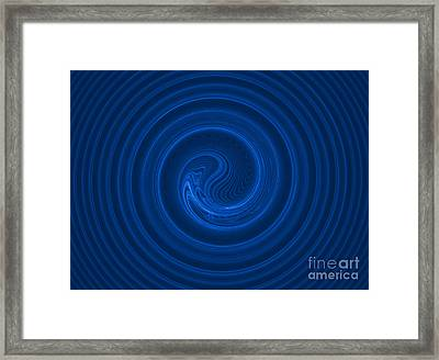 Abstract Fractal Background 02 Framed Print by Antony McAulay