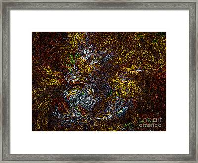 Abstract Fractal Framed Print
