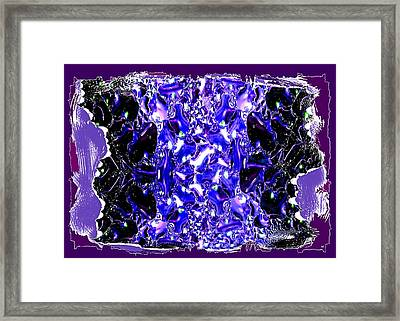 Abstract Fusion 117 Framed Print by Will Borden