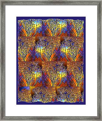 Abstract Fusion 142  Framed Print by Will Borden