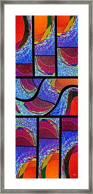 Abstract Fusion 168 Framed Print by Will Borden