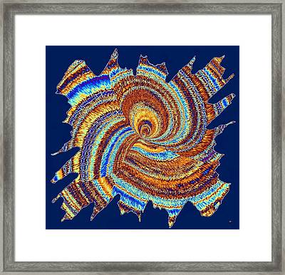 Abstract Fusion 176 Framed Print by Will Borden