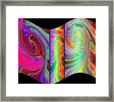 Abstract Fusion 184 Framed Print by Will Borden