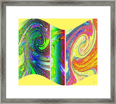 Abstract Fusion 188 Framed Print by Will Borden