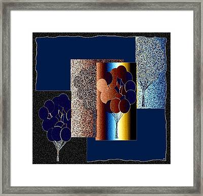 Abstract Fusion 191 Framed Print by Will Borden
