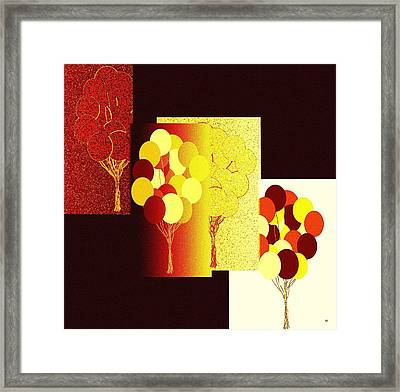 Abstract Fusion 192 Framed Print by Will Borden