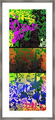 Abstract Fusion 193 Framed Print by Will Borden