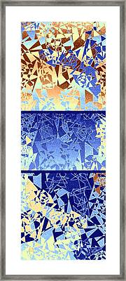 Abstract Fusion 194 Framed Print by Will Borden