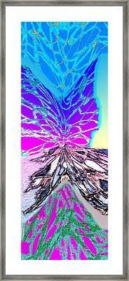 Abstract Fusion 196 Framed Print by Will Borden