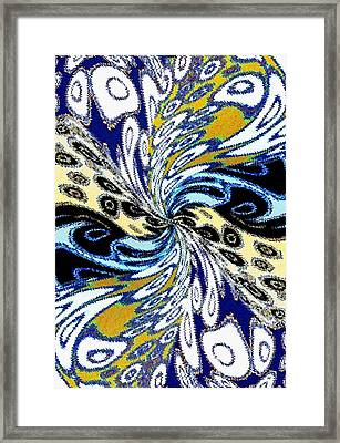 Abstract Fusion 198 Framed Print by Will Borden