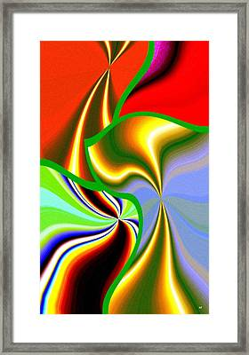 Abstract Fusion 200 Framed Print by Will Borden