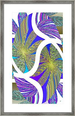 Abstract Fusion 203 Framed Print by Will Borden