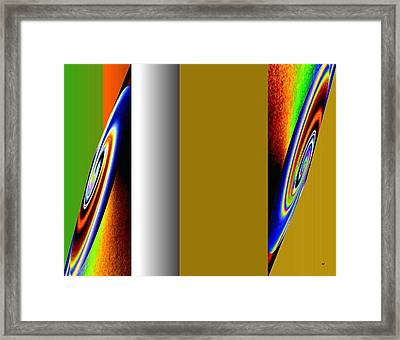 Abstract Fusion 211 Framed Print by Will Borden