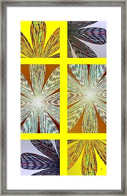 Abstract Fusion 216 Framed Print by Will Borden