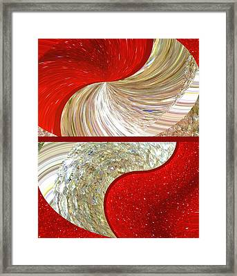 Abstract Fusion 218 Framed Print by Will Borden