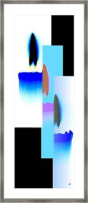 Abstract Fusion 220 Framed Print by Will Borden