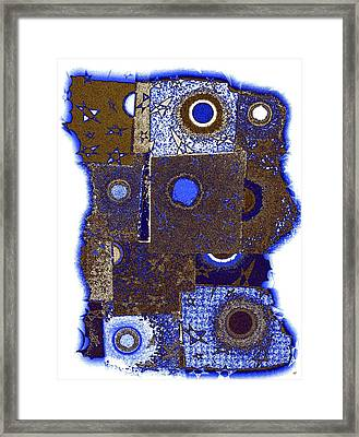 Abstract Fusion 225 Framed Print by Will Borden