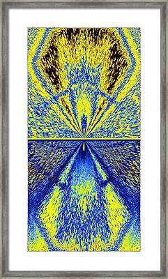 Abstract Fusion 226 Framed Print